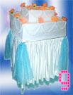 Торт-муляж цветочный прямоугольный