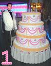 Торт-муляж круглый